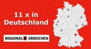 R-Trucks: 11 Standorte in Deutschland